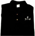 3:16 Glow In The Dark - Christian Golf Shirt