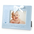 A CHILD OF GOD - Blue Photo Frame