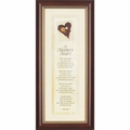A Mother's Heart Christian Wall Decor