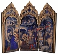 Adoration of the Magi Triptych Plaque