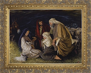 Adoration of the Shepherds by Jason Jenicke - 2 Framed Options