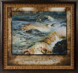 All Thy Works - Christian Framed Art