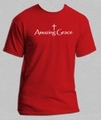 Amazing Grace - Christian Tee Shirt
