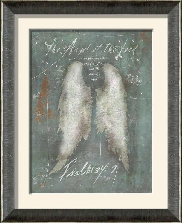 angel wings christian wall decor framed christian art