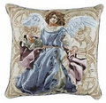 Angels of Hope Pillow - Blue Angel