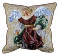 Angels of Hope Pillow - Red Angel