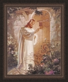 At Heart's Door by Warner Sallman - Framed Christian Art