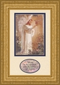 At Heart's Door by Warner Sallman with Bible Verse - Framed Christian Art