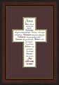 Attributes of Jesus Framed Christian Wall Decor - 2 Frames Available