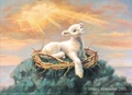 Behold the Lamb by William Hallmark - 3 Unframed Options