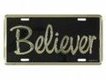 Believer - Christian License Plate