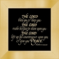 Bible Quote - The Lord Bless Christian Home Decor