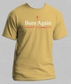 Born Again - I Am New - 2 Corinthians 5:17 - Christian Tee Shirt