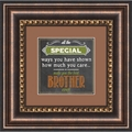 Brother - Framed Christian Tabletop Home Decor