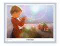 Child's Prayer by Danny Hahlbohm - 4 Unframed Options