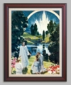 Christ in Heaven - Christian Art - 6 Framed & Unframed Options