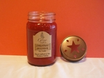 Christmas Splendor Scented Country Candle