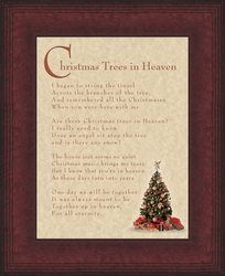 Christmas Trees in Heaven Memorial Gift