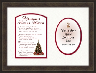 Christmas Trees in Heaven Personalized Memorial Gift