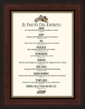 El Fruto Del Espiritu Framed Spanish Religious Gift - 6 Frames Available