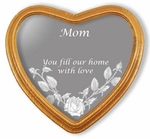 Mom, You Fill Our Home With Love Etched Glass Mirror