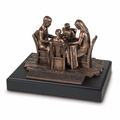Family Prayer Inspirational Sculpture