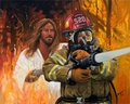 Fireman's Prayer by Stephen S. Sawyer - 5 Unframed Options