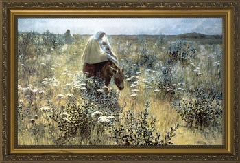 Flight into Egypt - Christian Art - 3 Framed Options