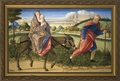 Flight into Egypt - Christian Art - 2 Framed Options