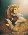 For He is our Peace (Harmony) by William Hallmark - 3 Unframed Options