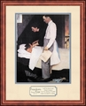 Freedom from Fear by Norman Rockwell - Framed Christian Art