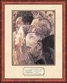 Freedom to Worship by Norman Rockwell - Framed Christian Art