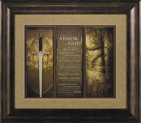 Full Armor of God Ephesians 6 Christian Wall Decor