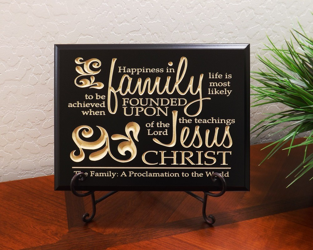 Christian home decor -  Christian Home Decor Happiness In Family Life Home Wall Dcor Lordsart