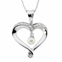 Heart and Soul� Pendant & Chain