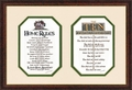Home Rules and The Ten Commandments Christian Wall Decor
