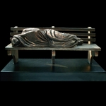 Homeless Jesus Christian Art Sculpture by Timothy P. Schmalz - Two Sizes Available