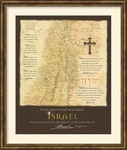 I Will Bless Those Who Bless Israel - Framed Christian Art