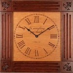 In Everything Give Thanks Christian Wall Clock
