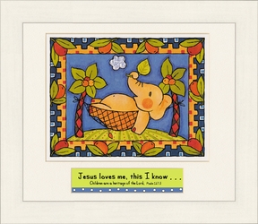 """Jesus loves me this I know""...Scripture Art for Kids"