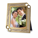 Joined In Love Christian Photo Frame