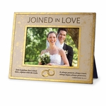 joined in love rectangular photo frame christian home decor