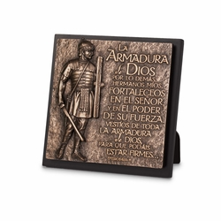 La Armadura de Dios (Armor of God) Spanish Plaque