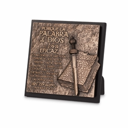 La Palabra de Dios (Word of God) Spanish Plaque