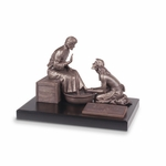 Large Humble Servant Sculpture - 14x10x11 - Pastor Appreciation Gift