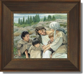 Let the Children Come by Liz Lemon Swindle - 6 Framed Options