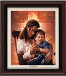 Lord, Teach Us To Pray by Ron DiCianni - 4 Framed & Unframed Options