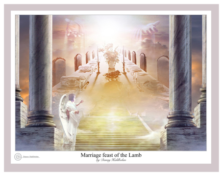 Marriage Feast Of The Lamb By Danny Hahlbohm