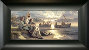 Men of Galilee by Simon Dewey - 4 Framed Options