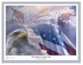 One Nation Under God by Danny Hahlbohm - Unframed Christian Art